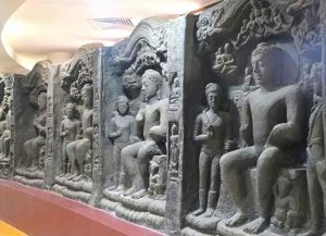 Budhha's ancient cornerstone has been discovered.